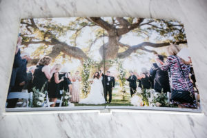How to Create a Stunningly Timeless Wedding Album: Christine Chang's Leather Craftsmen Creations