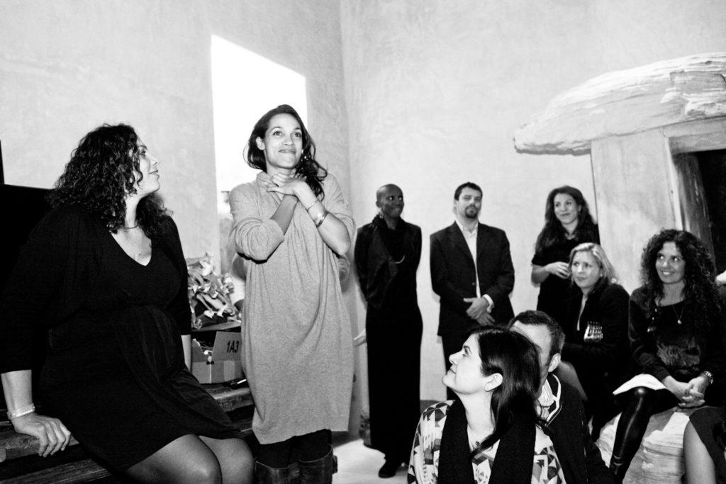 Rosario Dawson raises awareness for Shine On Sierra Leone - Christine Chang Photoraphy. www.christinechangphoto.com