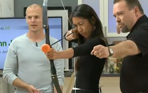 Archery With Tim Ferriss:  A Lesson On Letting Go