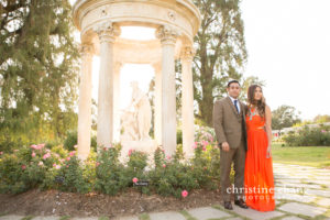 Huntington Library & Botanical Gardens Engagement Photos