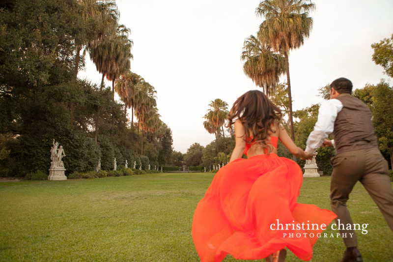 Huntington Library & Botanical Gardens Engagement Photos | Christine Chang Wedding, Lifestyle and Celebrity Photographer | www.christinechangphoto.com