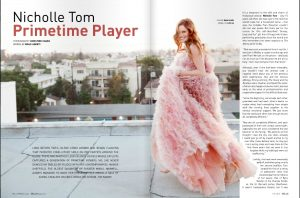 Nicholle Tom Feature For Bello Magazine