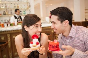 Downtown LA Engagement: Biltmore Hotel + Bottega Louie