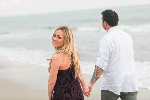 Malibu Engagement Photos: Mark + Theani