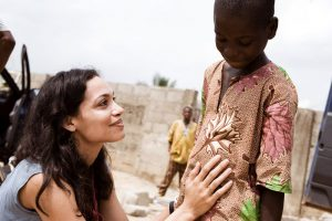 Awe-Inspiring Moments in Sierra Leone Sharing Rosario Dawson's Incredible Philanthropy