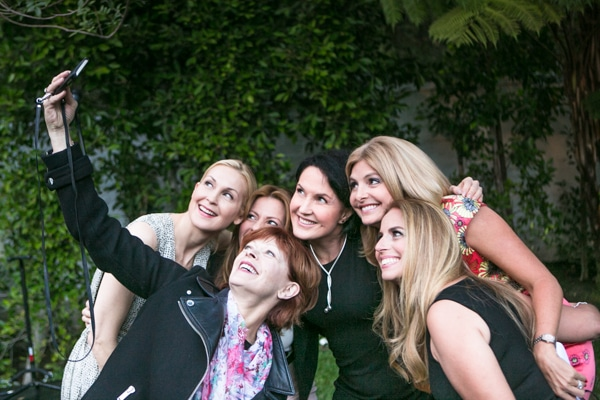 Kelly Rutherford, Kris Jenner, & Melanie Griffith Raise Funds For The Children's Justice Campaign