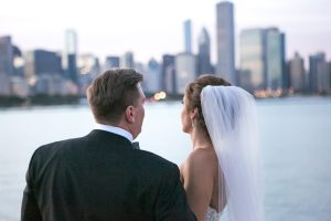 Chicago Wedding, The Adler Planetarium: Nick & Gina