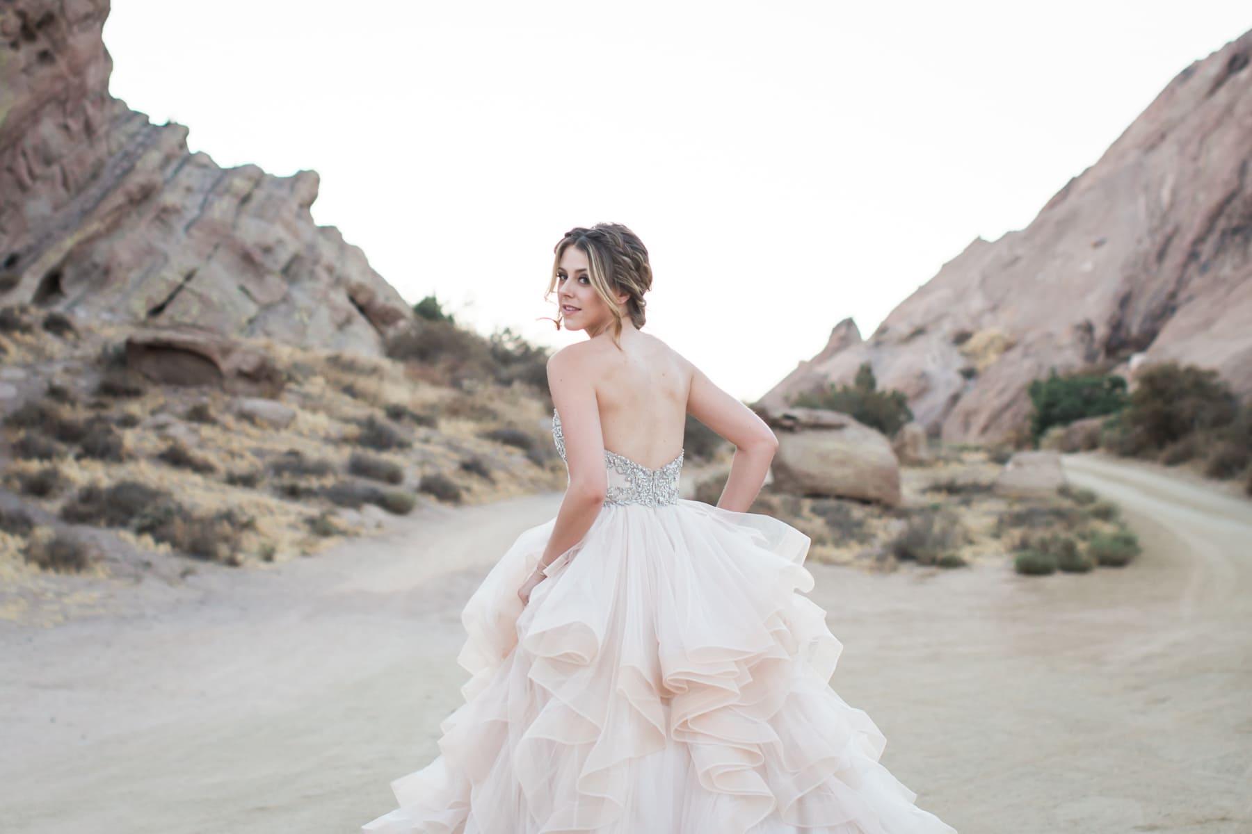 Vaquez Rocks Bridal Photography Workshop