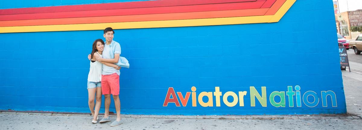 Venice Beach Engagement Photos: Coco & Ernest