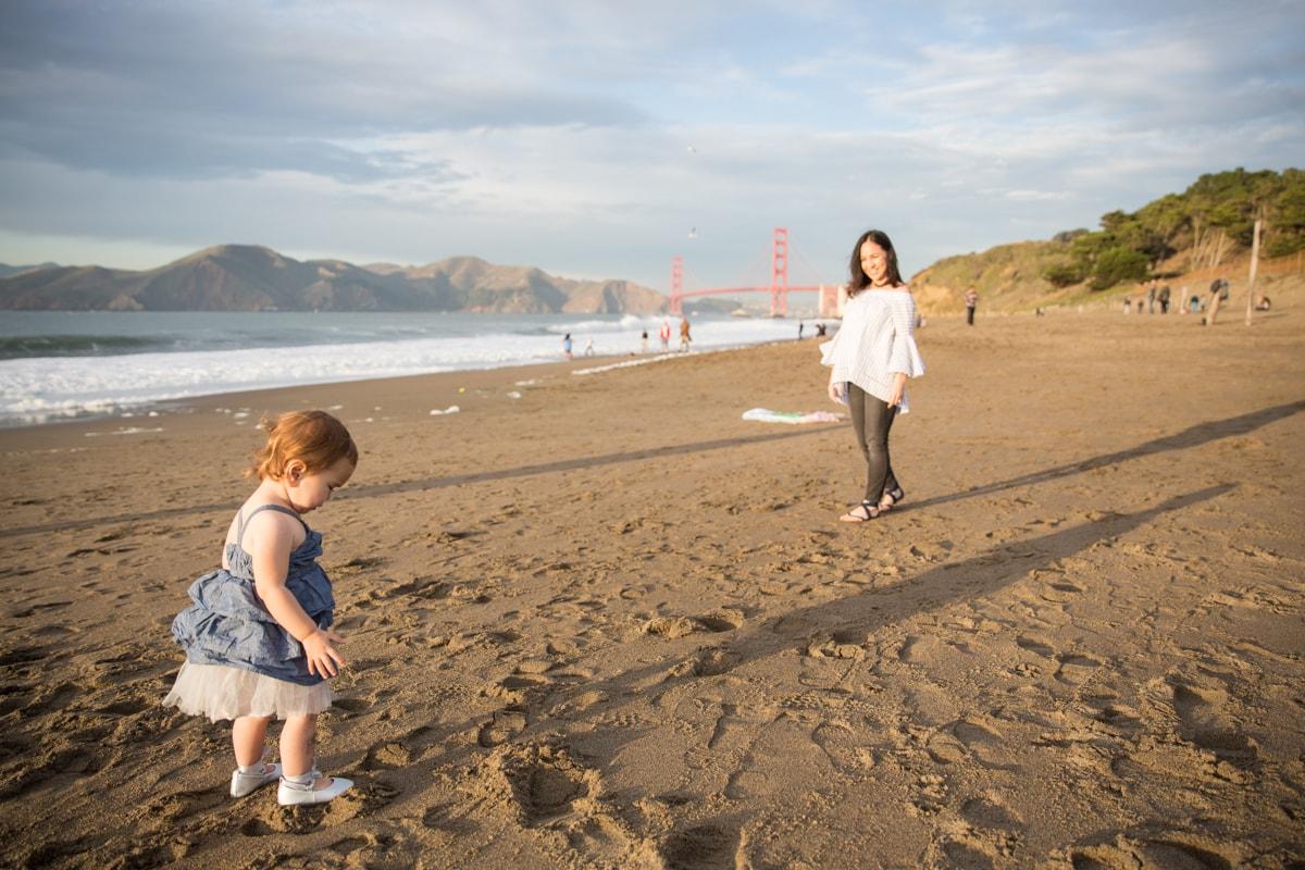 San Francisco Baker Beach Family Photos