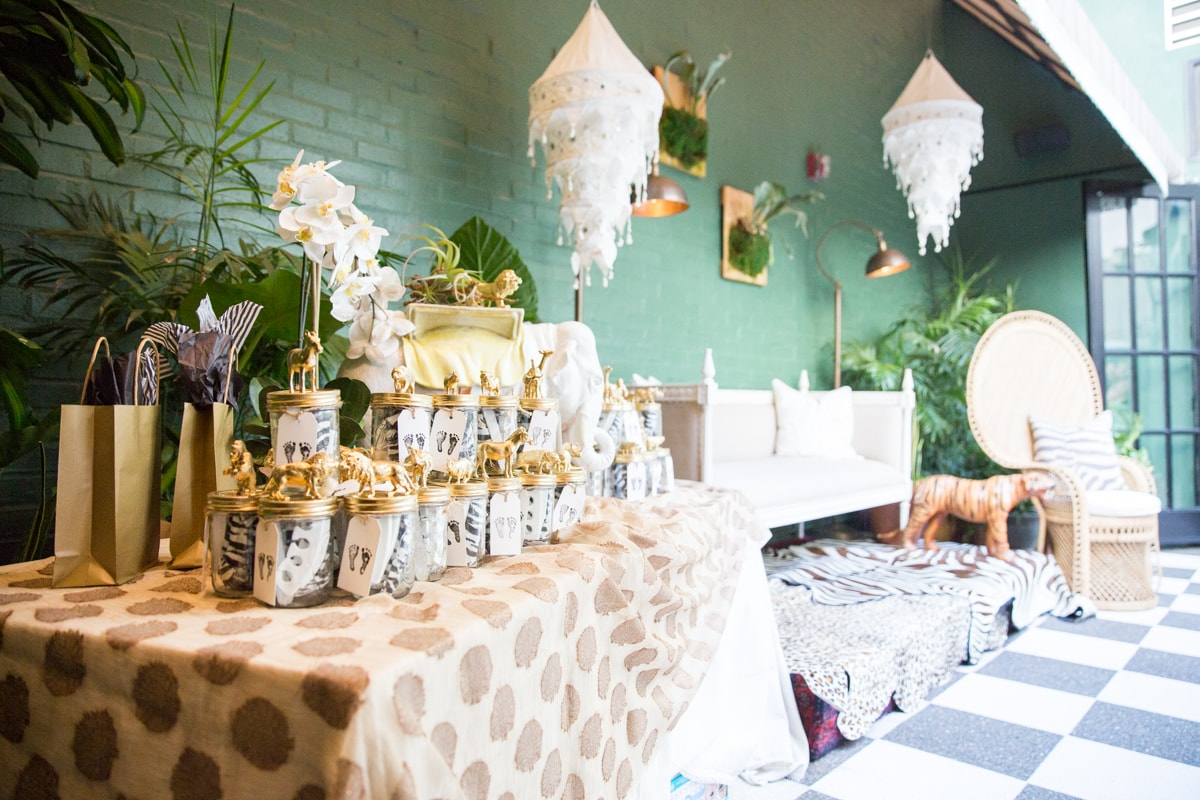 Animal Themed Babyshower At Palihouse West Hollywood