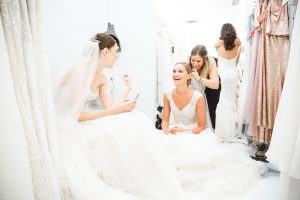Backstage with Watters At NYC Bridal Fashion Week