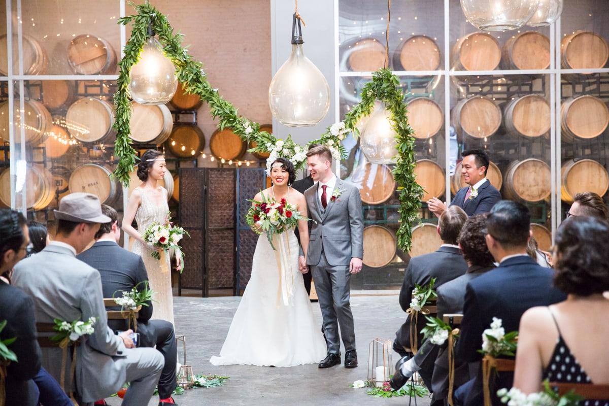 Bluxome Street Winery Wedding: Fay & Alex