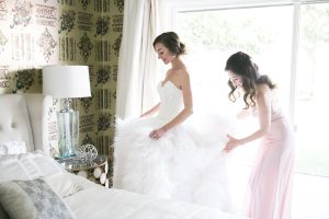This Stunning Feather Wedding Dress Will Take Your Breath Away
