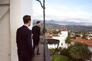 Karston & Nicholas' Sweet Civil Ceremony at Santa Barbara's Historic Courthouse
