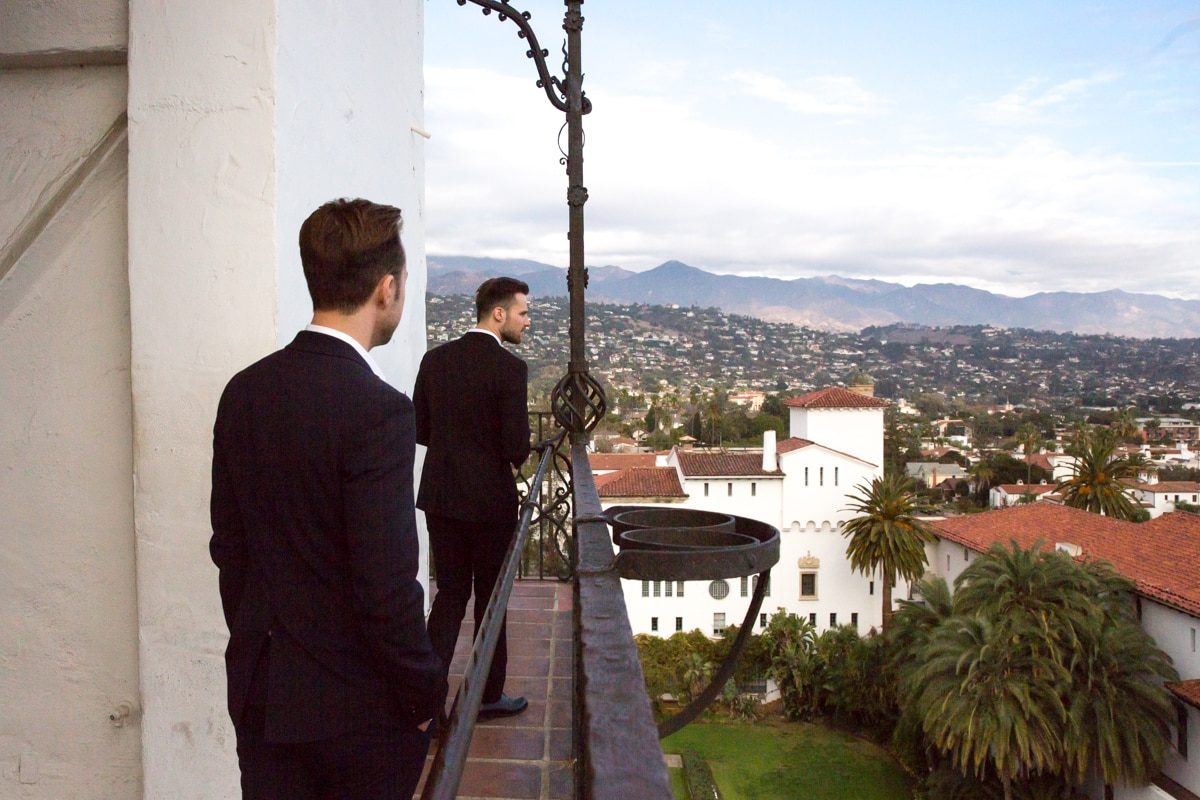 Santa Barbara Courthouse Wedding: Karsten & Nicholas