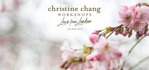 "Christine Chang ""Love from London"" Workshop"