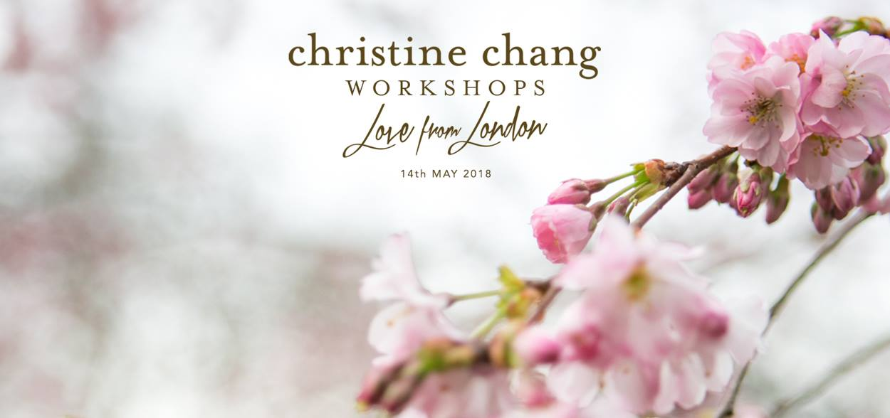 """Christine Chang """"Love from London"""" Workshop"""