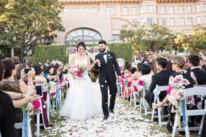 Wedding at The Langham Pasadena: Jennifer & Eli