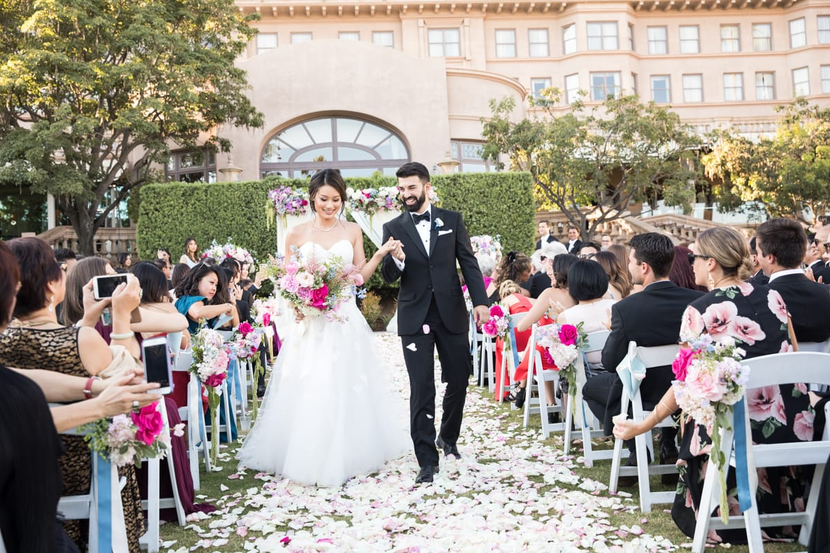 The Langham Pasadena Wedding: Jennifer & Eli