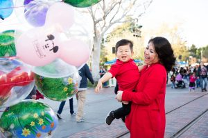 Family Shoot at Disneyland: Caleb Turns Two