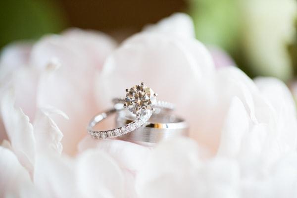 Sunset, Lilac Winery Wedding with Beautiful Vintage Details | Santa Ynez Valley, Santa Barbara California Wedding | Ring Shot | christinechangphoto.com - LA Based Wedding Photographer