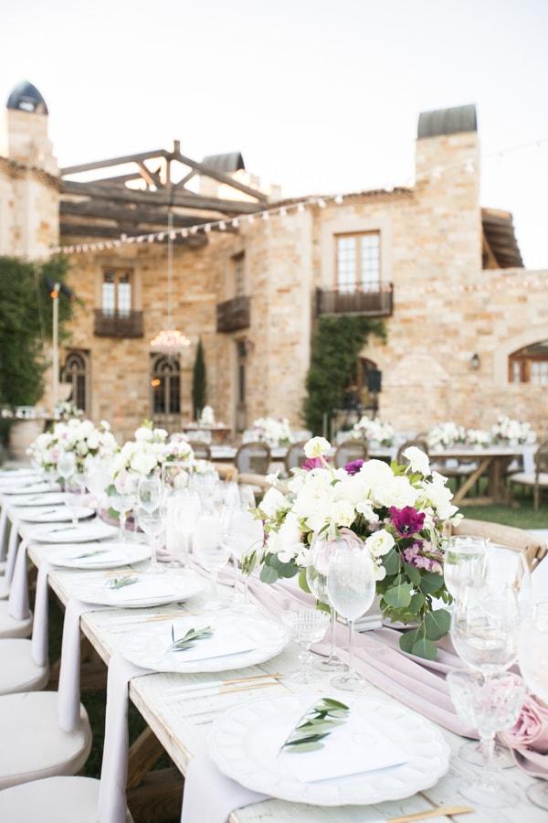 Sunset, Lilac Winery Wedding with Beautiful Vintage Details | Santa Ynez Valley, Santa Barbara California Wedding | christinechangphoto.com - LA Based Wedding Photographer