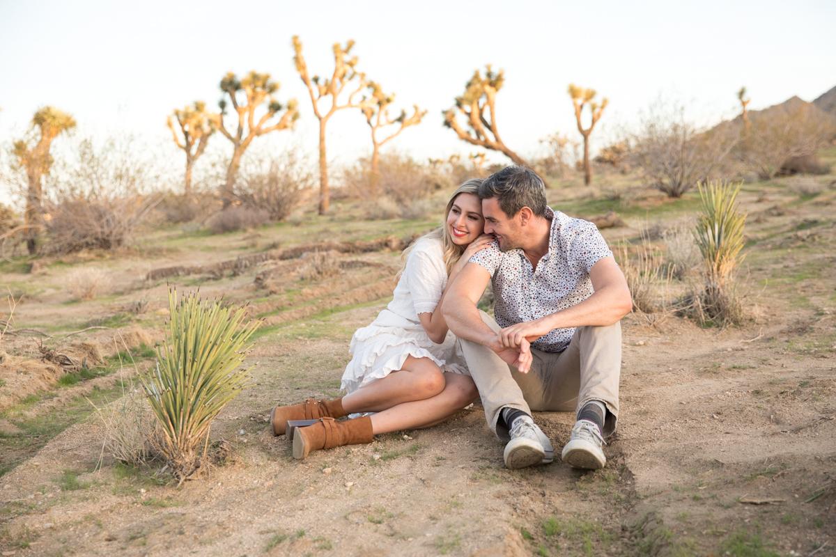 Joshua Tree Engagement Photos: Ben & Lauren