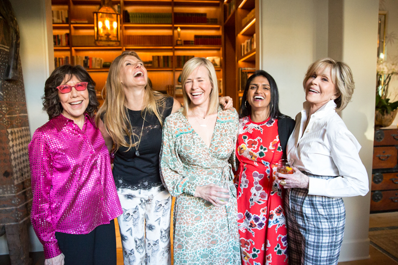 Lily Tomlin, Connie Britton, Chelsea Handler, Saru Jayaraman, & Jane Fonda - Christine Chang Photography