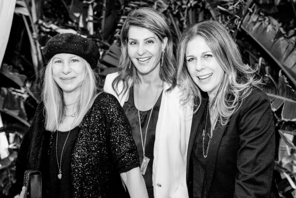 Barbara Streisand, Nia Vardalos, & Rita Wilson - Christine Chang Photography www.christinechangphoto.com