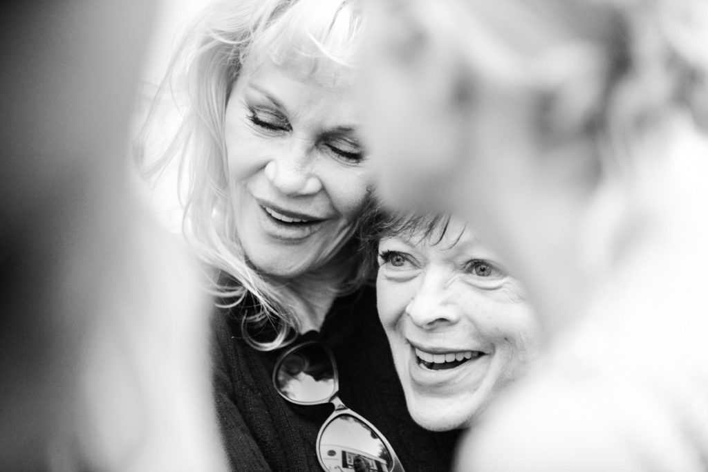 Melanie Griffith & Frances Fisher - Christine Chang Photography www.christinechangphoto.com