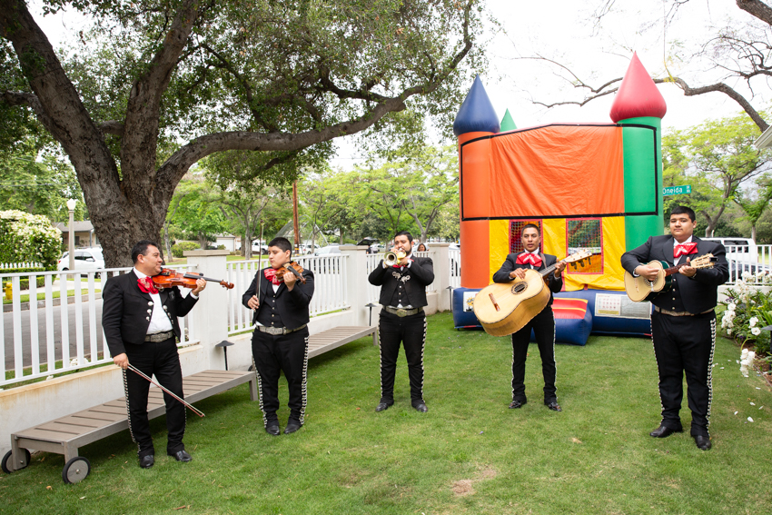 Mariachi band at fiesta themed birthday party. Christine Chang Photography. www.christinechangphoto.com