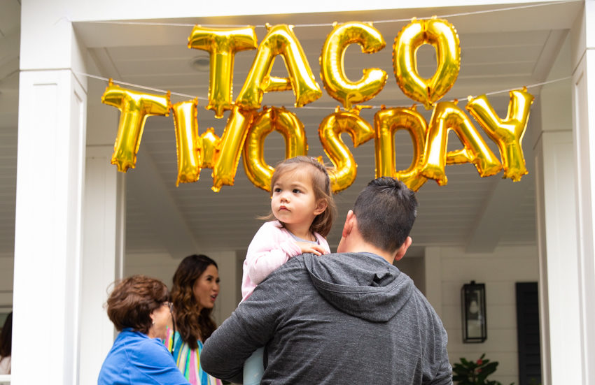 Taco Twosday - A fiesta themed birthday party. Christine Chang Photography. www.christinechangphoto.com