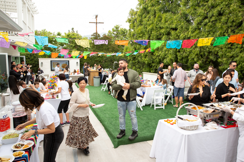 A colorful fiesta themed birthday party. Christine Chang Photography. www.christinechangphoto.com