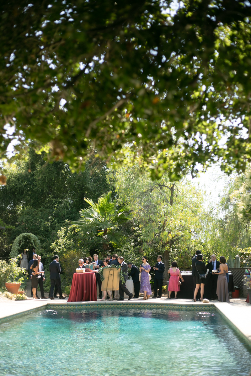 Wedding at The Mountain Mermaid in Topanga. Photo by Christine Chang Photography. www.christinechangphoto.com