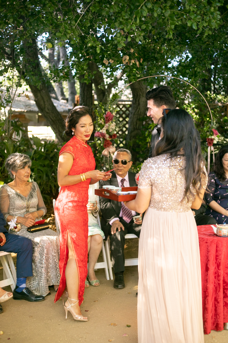 Chinese Wedding at The Mountain Mermaid in Topanga. Christine Chang Photography. www.christinechangphoto.com