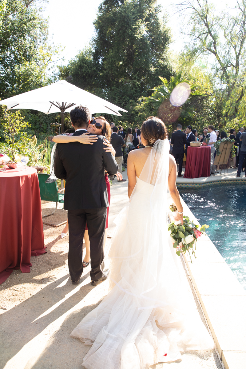 Wedding at The Mountain Mermaid in Topanga. Christine Chang Photography. www.christinechangphoto.com